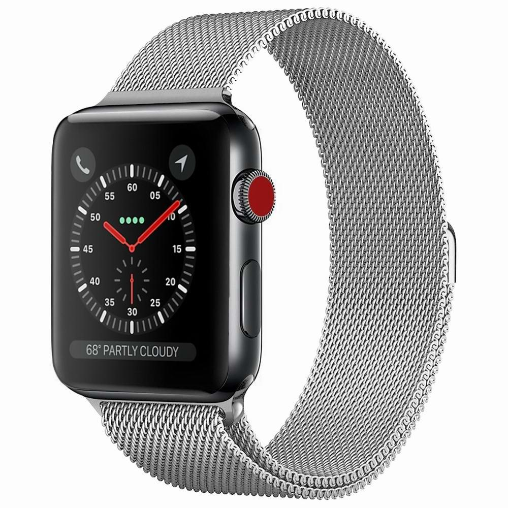 Handodo Compatible for Apple Watch Leather Strap METAL581003