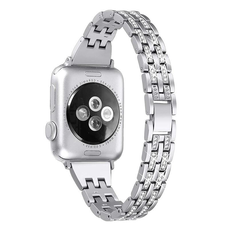 Handodo Bling Watch Bands Compatible Apple Watch Band METAL581008