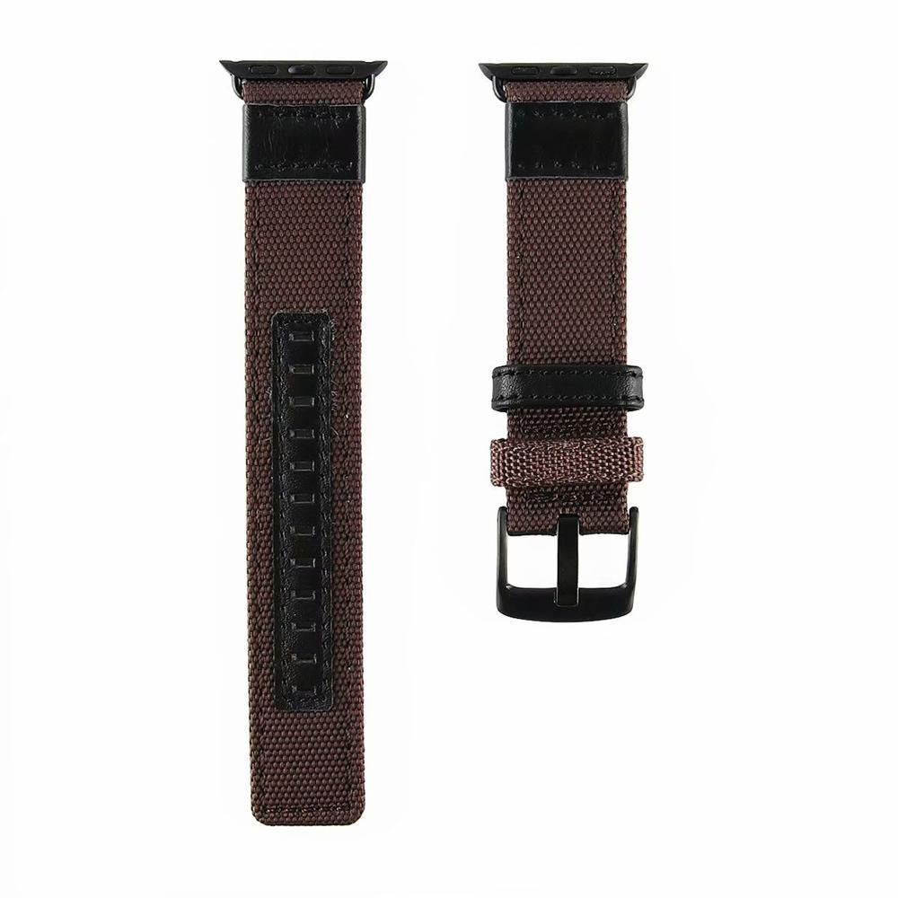 Nylon iWatch Strap Replacement Bands with Stainless Metal Clasp for Apple Watch FLS381004