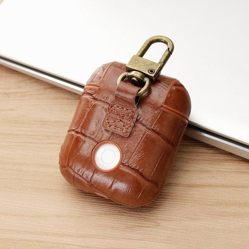 Genuine Leather Airpods Case for Apple Airpods AP181009