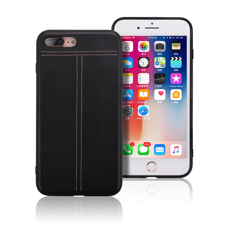 Leather back case for Apple, Samsung and Huawei GLPC018