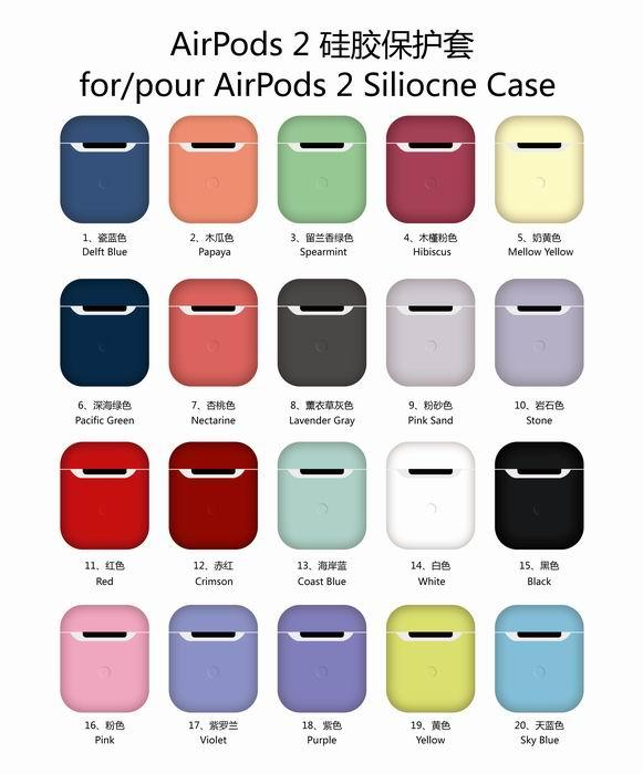 Premium Ultra-Thin Soft Skin Cover Compatible with Apple AirPods ap181053