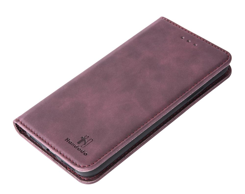 Handodo Leather Wallet Cases for iPhone Xs Magnetic Detachable Folio Flip Phone Cover